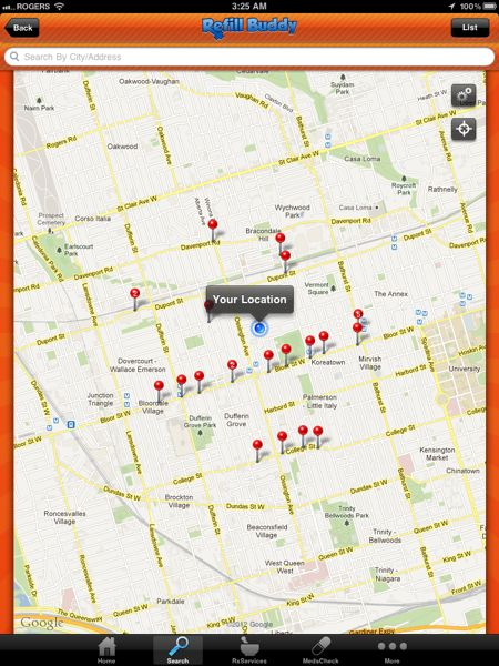 Refill-Buddy-Map